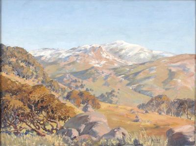 Up to the Summit, Australian Alps; Allan GRIEVE, 1910-1970; 1948; 1949_2