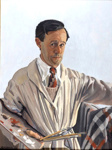 Self Portrait; Herbert BADHAM, 1899-1961; 1935; 1935_50