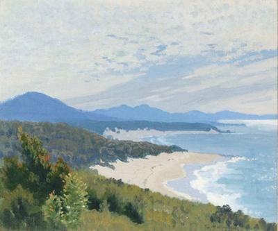 Near Nambucca Heads; Elioth GRUNER, 1882-1939; 1933; 1934_50
