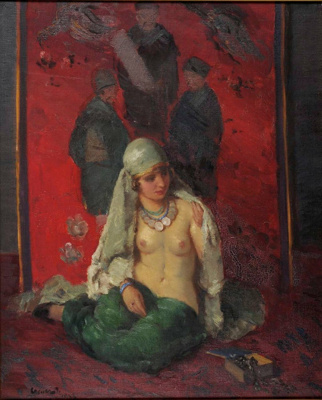 Crimson and Green; Janos CZENCZ, 1885-1960; 1938; 1939_126