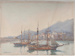 Mentone Fishing Boats; J.H. YOUNG; n.d.; 1935_70