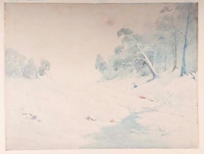 Snowing; Sydney COCKS, d.1939; 1919; 1939_80
