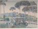 Borghese Gardens, Rome; Rah FIZELLE, 1891-1964; n.d.; 1939_5