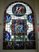 The Glory of Athletics [stained glass window]; Norman CARTER, 1875-1963; 1937; 469