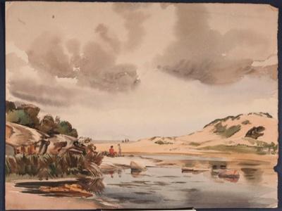 Untitled; Ronald Hewison STEUART, 1898-1988; n.d.; 1936_55