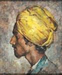 The Yellow Turban; Denes de HOLESCH, 1910-1983; n.d.; 1940_53