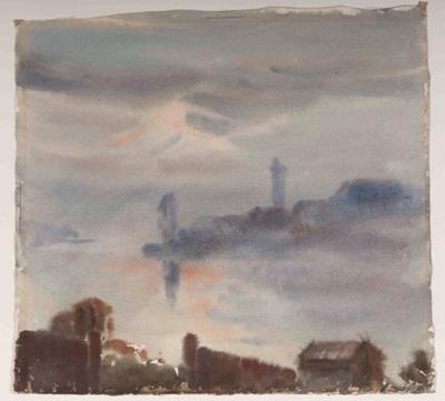 Evening Mists; John W. MAUND, 1876-1962; 1944; 1944_79