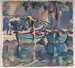St. Tropez, France; Maud SHERWOOD, 1880-1956; (1934); 1945_7