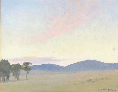 Sunset, Yass; Elioth GRUNER, 1882-1939; 1931; 1939_118