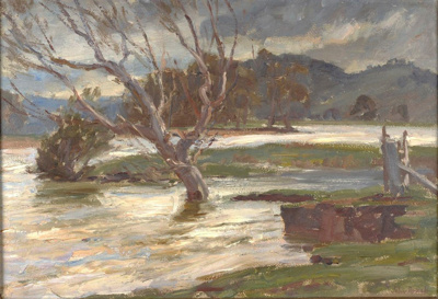 Flood Waters; John ROWELL, 1894-1973; n.d.; 1946_25