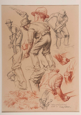 Studies at Lanchbury's Brook; Stanley ANDERSON, 1884-1966; 1936; 1939_11