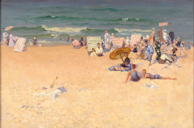The Beach; Elioth GRUNER, 1882-1939; 1918; 1941_27