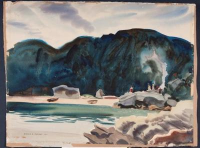 The Picnic; Ronald Hewison STEUART, 1898-1988; 1940; 1941_23