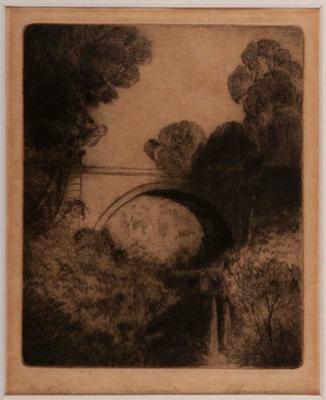 The Cascade; Elioth GRUNER, 1882-1939; n.d.; 1940_5
