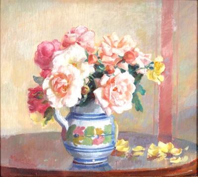 Roses; Nora HEYSEN, 1911-2003; 1939; 1944_10