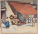 Shop at Capri, Italy; Maud SHERWOOD, 1880-1956; 1930; 1933_35