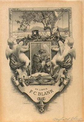 F.C. Blank (Bookplate); Gayfield SHAW, 1885-1961; 1939; 1945_24_4