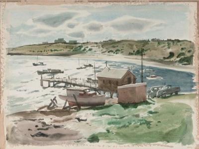 Winter Afternoon, La Perouse; Frank McNAMARA, 1916-1995; 1946; 1946_32