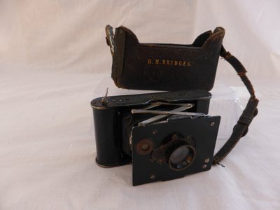 Hilda Bridges' Vest Pocket Kodak Camera; 1502.1.2