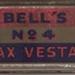 Bell's No. 4 Wax Vestas; 1518.1