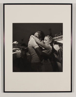 Making Out, 1957-1980: Teen Couple, Allentown Fair (1978); Larry Fink; 1998-0007-U