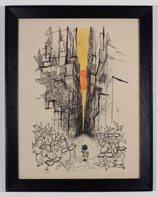 The Thing From Underground, 1969; Phillip Sutton; 0000-0046-U