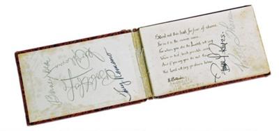 Beryl Bonser's Autograph Book ; c1944; 12