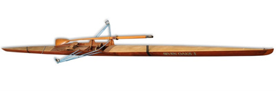 Rowing scull used by Tom Saul ; 1923; 9555