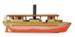 Model, Cream Launch, SS Willirie ; 1970s; 2014.006