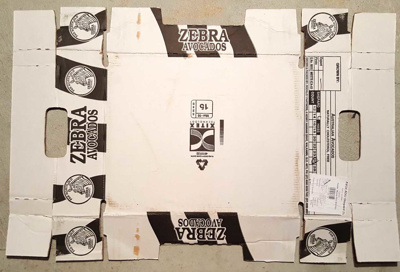 Zebra Brand Avocadoes ; Amcor/Orora; 17.10661