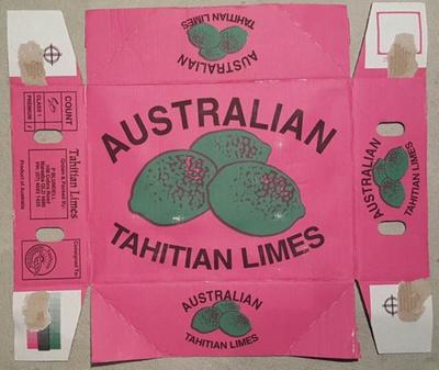 Australian Tahitian Limes; Visy; 17.0209