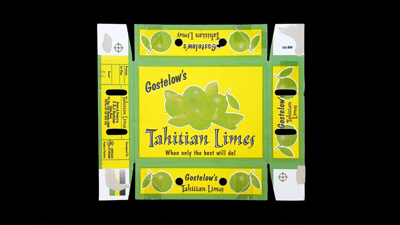 Gostelow's Tahitian Limes; 17.0286