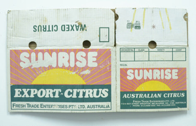Sunrise Citrus; Maker unknown; 37.905491