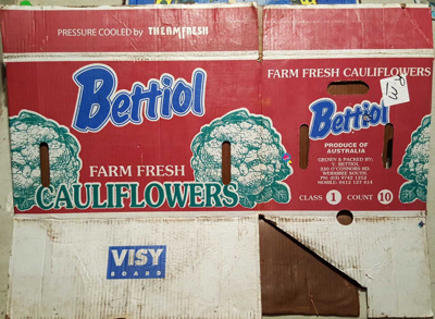 Bettiol (Cauliflowers); Visy; 37.94838