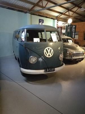 1955 Volkswagen Type 2 'Barndoor' van; Volkswagen Group; 1955; 2015.356