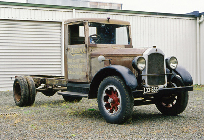 1928 Willys Knight 21 truck; Willys-Overland Company; 1928; 2015.216