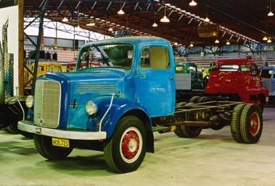 1959 Mercedes Benz L312 truck; Daimler AG; 1959; 2015.399