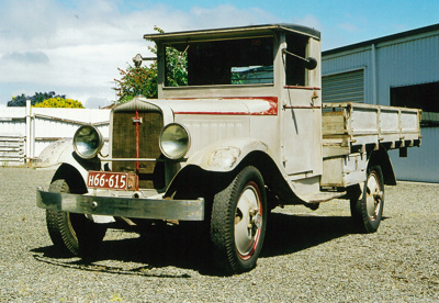 1931 Studebaker S20 truck; Studebaker Brothers Manufacturing Company; 1931; 2015.244