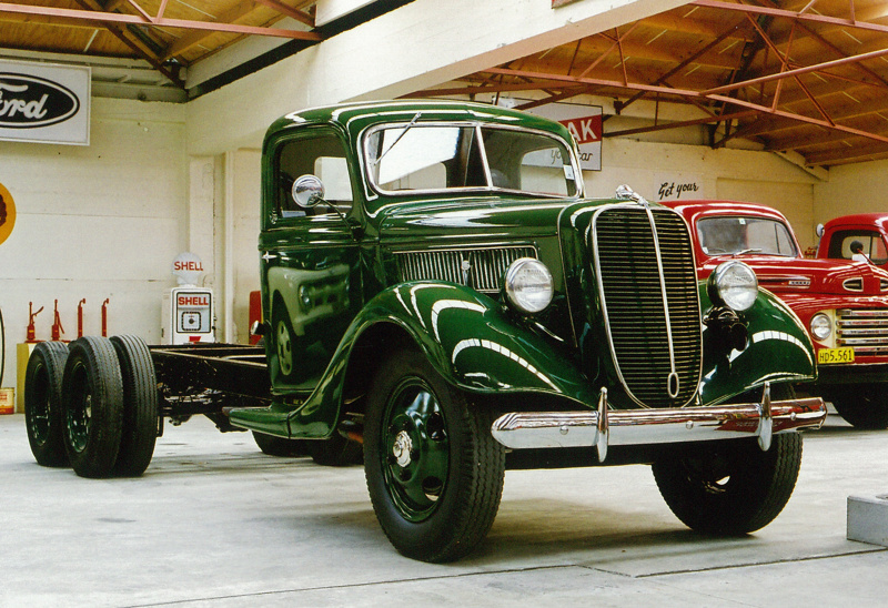 1937 Ford 79 Sussex Truck Ford Motor Company Of England