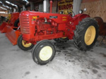 1956 Massey Harris 745 tractor; Massey Harris Company Ltd; 1956; 2015.354