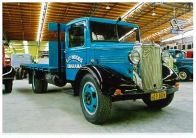 1937 Bedford WTL truck; General Motors Company; 1937; 2015.223