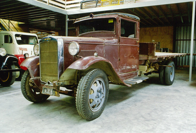 1934 Morris Commercial CS13/40 truck; Nuffield Group; 1934; 2015.174