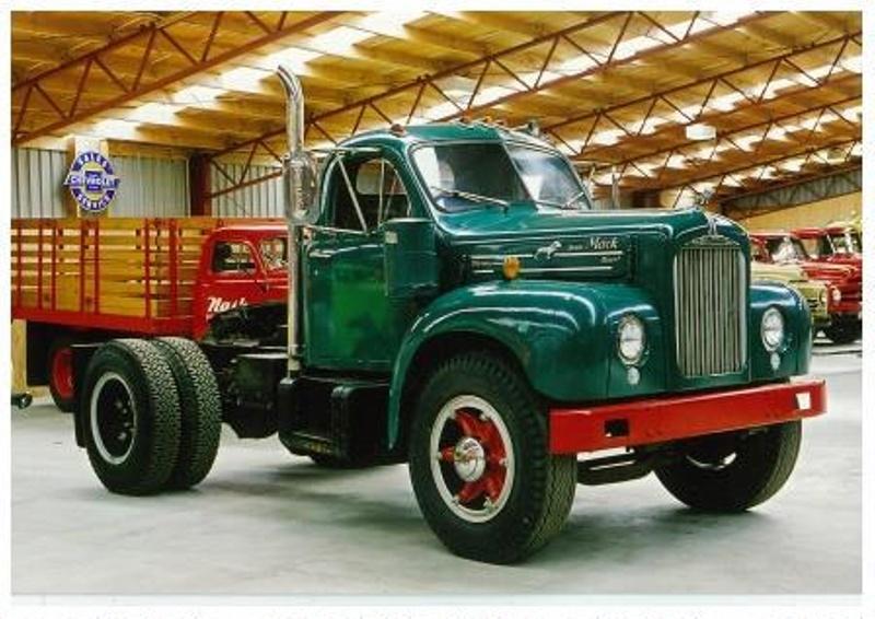 1955 mack b653 truck mack trucks inc 1955 on nz museums - Mack truck pictures ...