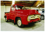 1955 Ford F100 truck; Ford Motor Company; 1955; 2015.128