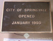 City of Springvale building plaque.; 1980; CVP 104