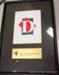 City of Greater Dandenong logo certificate.; CVC 93a