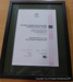 National Awards for excellence in Multicultural Affairs certificate; CVC 95