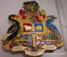 City of Springvale armorial crest plaque.; CVP 42