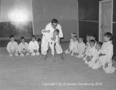Dandenong Scouts Judo; Graham Southam; 1968; 10.431.01