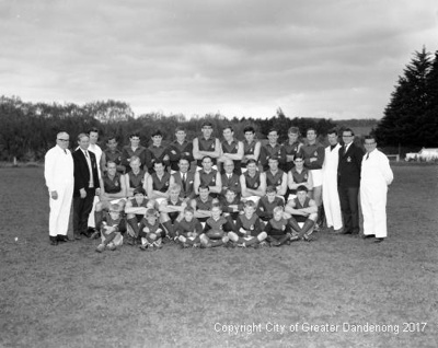 Dandenong Football Club; Graham Southam; 1968; 10.1181.01
